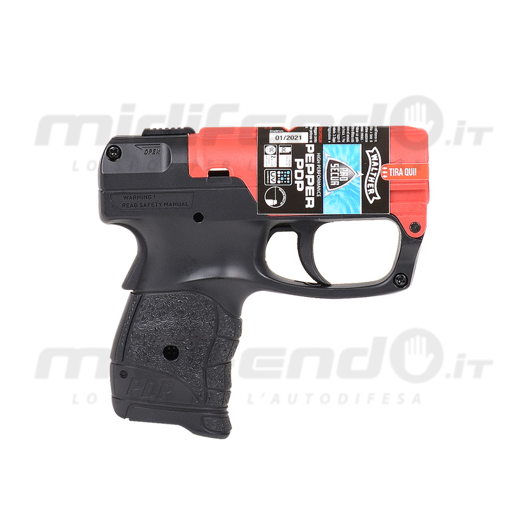 Walther PDP nera-rossa
